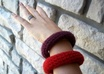 crochet you a wool bangle bracelet small2