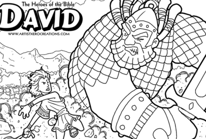 Send You 12 Different Heroes Of The Bible Coloring Pages