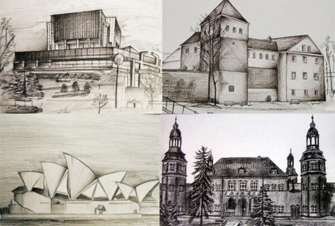 draw a pencil portrait, drawing of building, car, landscape or anything You want