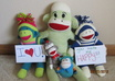 take pictures of your logo or message with my sock monkeys small2
