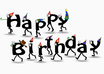 write your website url a Birthday Wishes or any MESSAGE with this characters small2