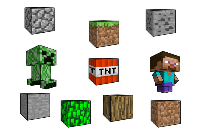how to make a minecraft out of paper