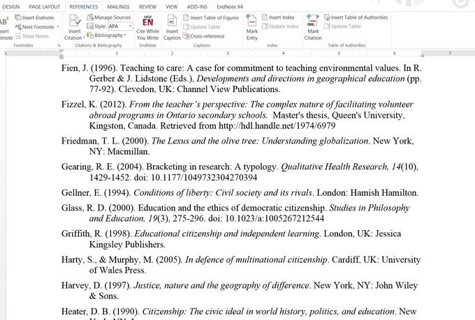 Reference List Apa - diepieche.tk