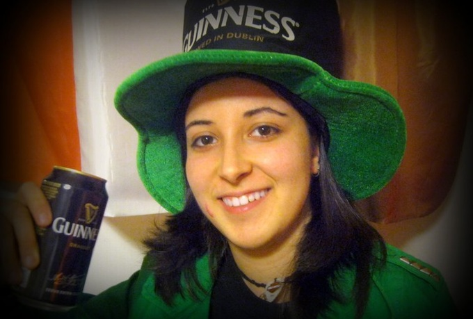 record a testimonial, video message or funny video as an irish leprechaun