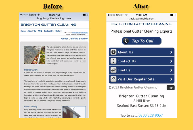 create a basic mobile website for your business