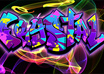 create an Urban Graphic Art pieces of a name/logo/phrase with an effect small2
