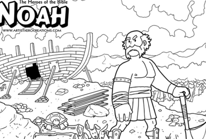 send you 12 different Heroes of the Bible coloring pages ...