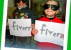 take pics of small childs holding ur message/birthday wish in cute funny stlye small3
