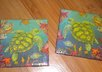 make a set of 2 custom tile coasters with sea turtles small3