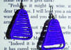 make beautiful earrings out of your favorite color thread small3