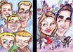 draw a Fiverr Exclusive Caricature of your face small3