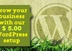 set up your WordPress website and add the pages small1