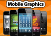 create Stylish Mobile Graphics for your Mobile App or Website small1