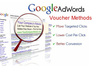 help you Rock in Google Adwords PPC by Voucher Methods Plus Analysis Package