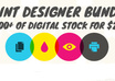 give you the Print Design Bundle