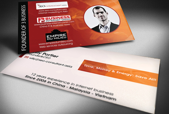 design a professional business card[free editable files]
