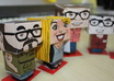 create a papercraft of you