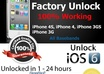 factory unlock code service iphone 3gs 4 4s 5 permanent