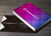 create two elegants and professionals business card front and back