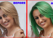 change Hair Color in your personal image and replace with color of your choice small1