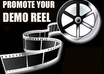 put your DEMO Reel on the HollywoodOracle pr3 entertainment site for 2 weeks and link it to our fb fan page and twitter over 4000 fans