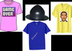 design t shirts and hats