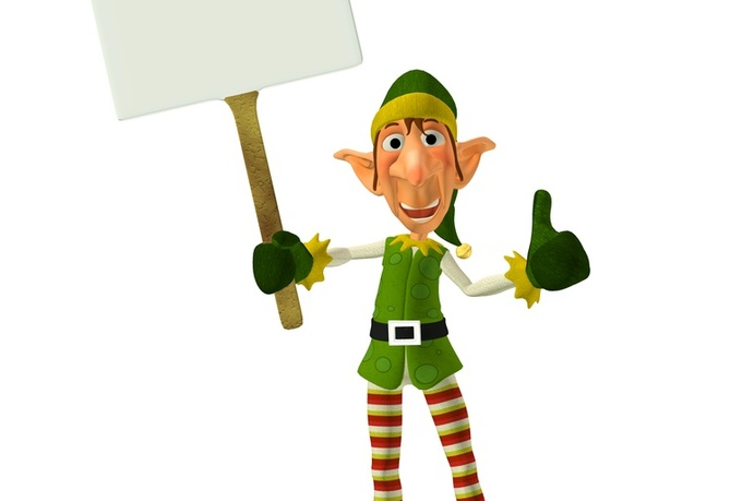 record your Christmas Message as Chester Elf