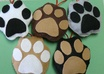 send you a handmade paw print ornament small1