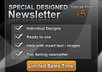 design a top selling newsletter