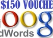 give 2 x 150 dollar adwords coupon accept worldwide