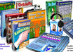 give you 10 Audio ebooks in mp3 and pdf format, on various subjects with some sales letters, graphics plus bonus of 6 free ebooks or Reports