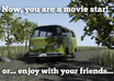 make a movie with your face, your text and custom VW van small1