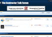 place YOUR banner ad on our contractor driven talk forum site 30 days