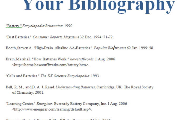 will create your works cited references or bibliography for 5