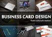 create your print ready double sided business card