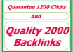 quarantee You 1200 clicks by sending Your solo ads and email To Millions of my subscriber