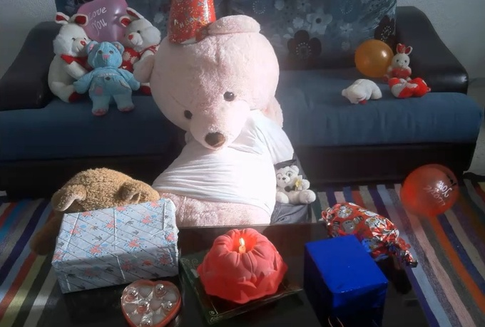 create a funny stop motion video to wish your friend happy birthday