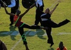 describe in detail and show you how to do the color guard routine