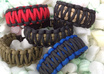 make a Custom Two Color King Cobra Survival Paracord Bracelet