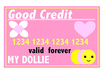 make a credit card for a doll small1