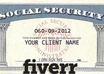 create a novelty social security card