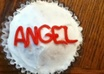 bake a cupcake and decorate it with your name on it