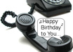 sing a Personalized Happy Birthday Song Over the Phone in 4 Part Harmony
