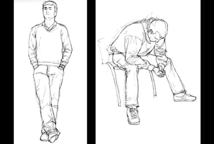 pencil sketch in artistic or comic style any Picture