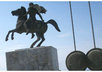 send you a Hand Written postcard of the famous statue of Alexander the Great ,  in Thessaloniki Makedonia Greece