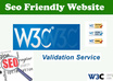 make your websites W3C Validated