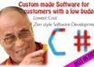 make SOFTWARE for customers with a low budget