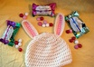 crochet this Easter Bunny hat for your child