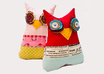 hand make a quirky Owl plushie