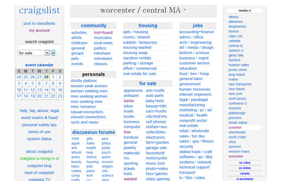 Place Your Ad On Worcester Ma Craigslist Fiverr